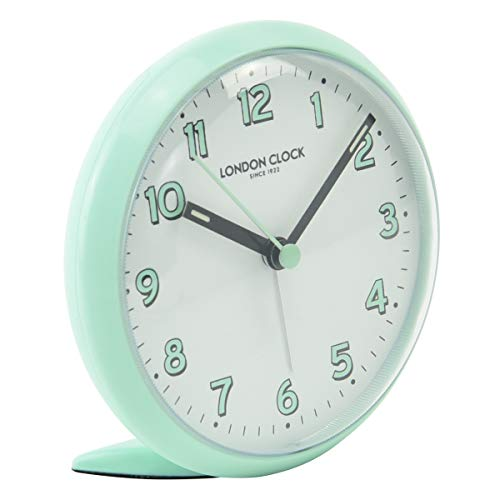 London Clock Echo Duck Egg Alarm, 11 x 11 x 4.5 cm