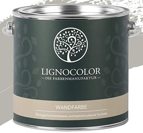 Lignocolor Wandfarbe Innenfarbe Deckenfarbe edelmatt 2,5 L (Shadow)