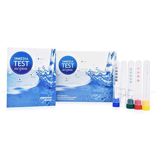 Test per l'analisi della qualità e della potabilità dell'acqua di casa - esclusivo brevetto...