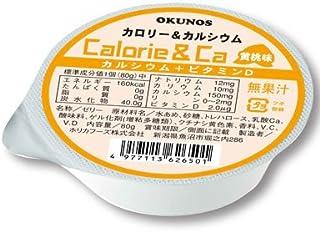 オクノス カロリー&カルシウム 24コセット 黄桃味 [IK在品]