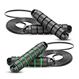 Jump Ropes For Fitness - Skipping Ropes For Exercise, Lose Weight, Burn Calories, Indoor Fitness,...