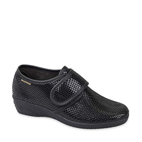 Valleverde Scarpe Donna Ciabatte Pantofole Chiuse ch. Strappo 26217 Nero Tg. 38