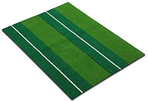 YANGSANJIN Golf Praktijk Mat Simulatie Gras Tapijt Oefening Deken Brand Rubberen Zool, Draagbare Golf Mat, Indoor En Outdoor Putter Pad (Maat: 30 * 60cm)
