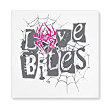Halloween Anime AJ Lee Love Bites Posters and Prints Wall Pictures Living Room Modern Decorations Creative Decorative Painting Wall Art Decor (16x16in) unframed