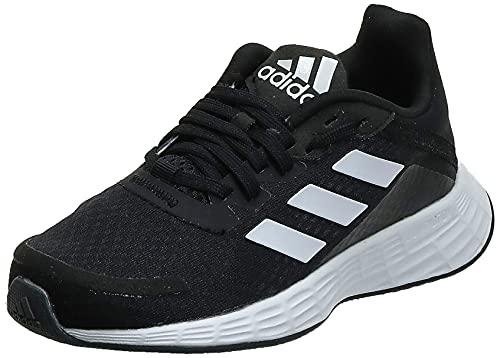 adidas Duramo SL, Road Running Shoe, Core Black/Cloud White/Dash Grey, 38 2/3 EU