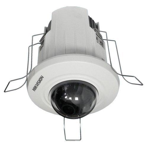 HiWatch Hikvision - IP-camera - 1/3 inch Progressive Scan CMOS - 2 megapixel (1920x1080) - 2,8 mm groothoeklens - 0.01 Lux/F1.2 - H.264/MJPEG - Dual Stream - RJ-45 10/100 BaseT - PoE IEEE802.3af - WLAN IEEE 802.11b/g/n - opname op SD-kaart - WEB Interface - CMS (iVMS-4200), smartphone (iS-4200) 4500) en NVR – compatibel met ONVIF – gebruik binnenshuis – plafondmontage (inbouw).