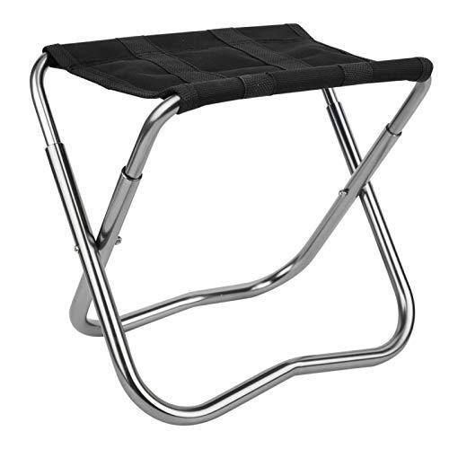 Fournyaa Sgabello Piccolo Pieghevole, seggiolini da Campeggio Portatili, Pieghevole per la Pesca in Campeggio(Folding Chairs)