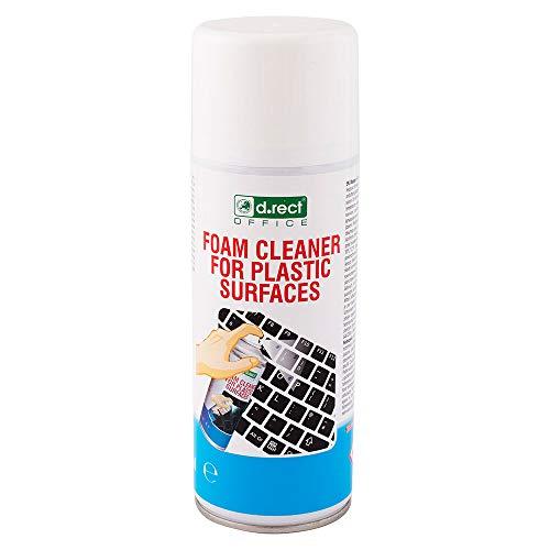 D.RECT Kunststoff-Reinigungsschaum 400ml   Superclean foam   Schaumreiniger Reinigung Kunststoffoberflächen   Wirkt bakterizid