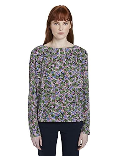 TOM TAILOR Damska bluzka z kwiatowym wzorem, 22098 - Colorful Floral Desi, 36 PL