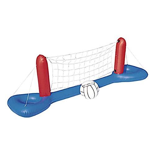 Timetided Red de Voleibol de Agua Juego de Jugar Juguete de Agua Red de Voleibol de Agua Juguete de Red de Voleibol de Piscina Juguete - Red de Baloncesto