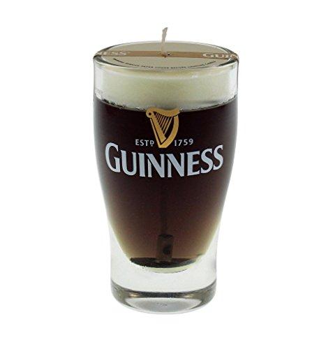 Guinness: Vela diseño de jarra de cerveza