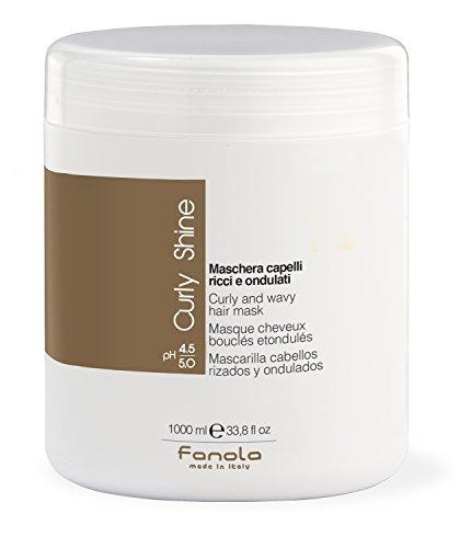 Fanola Curly Shine - Mascarilla cabellos rizados y ondulados - cuidado de rizos