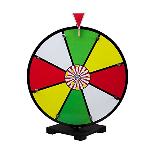 16 Inch Color Dry Erase Prize Wheel By Midway Monsters
