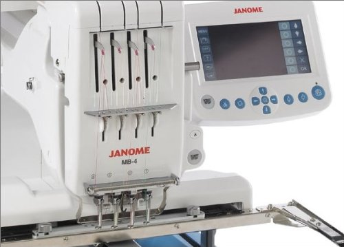 Janome 4250229882932 - Bordadora MB 4: Amazon.es: Hogar