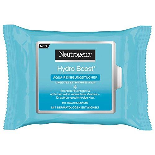 Neutrogena Hydro Boost Aqua, 25 chiffons de nettoyage sac (Sauna)