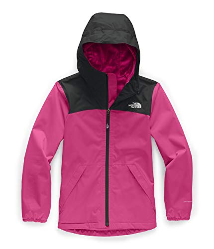 The North Face Girls' Warm Storm Jacket, Mr. Pink, M