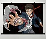 Parasyte Wall Scroll Poster Fabric Painting for Anime The Maxim Izumi Shinichi 003