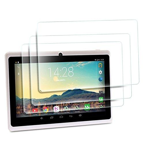 iRULU Tablet de 7 Pulgadas Película Protector de Pantalla, IVSO HD Clear Pantalla Alta Definición para iRULU Tablet de 7 Pulgadas Tableta (3 Packs)