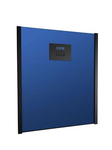 """HJM Calefactor """"Split"""" con mando a distancia 2000W 637A azul"""