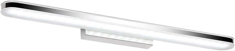 YWJ Spiegel Licht LED Einfache Mode Anti-Fog Licht Feuchtigkeitsspendende Acryl Schminktisch Badezimmer Beleuchtung (Farbe   Wei, gre   12w 60cm)