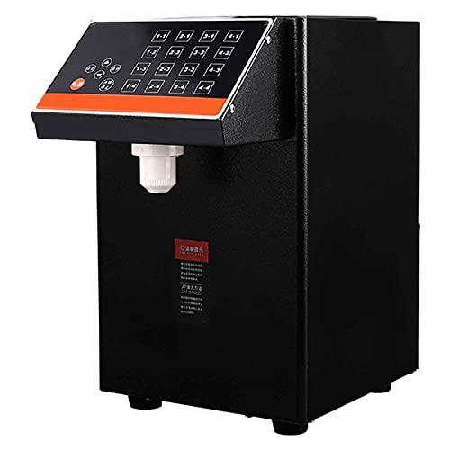 Dispensador Automático De Fructosa 8500cc Botón De 16 Memorias Temperatura Constante Tridimensional De 360 ° Adecuado para Tiendas De Té con Leche Y Tiendas De Postres 403x250x250mm