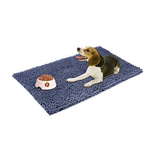 My Pet Territory For Dog And Cat-Ultra Absorbent Microfiber Chenille Dog Mat, Durable, Quick Drying,...