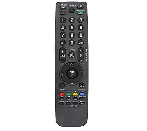 121AV Sostituzione TV telecomando in forma AKB69680403 per LG 19LH2000 19LH2000ZA 19LH2020 19LH2020ZC 22LH2000 26LH2000 32LG2100 32LH2000 32LH3000 37LF2500 37LF2510 37LG2100 37LH2000 37LH2010 37LH3010