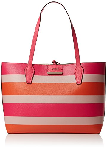Guess - Bobbi, Shoppers y bolsos de hombro Mujer, Beige (Sunset Nude),...
