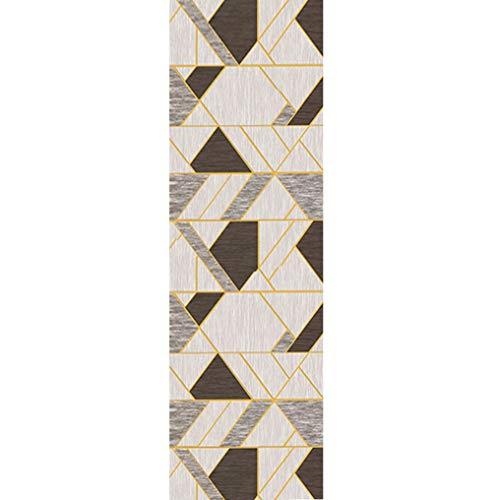 CLHXZ Alfombras for cocinas Alfombra de la Vendimia Estera de la Cocina de la Alfombra Corredores for los vestíbulos no Slip Mat Puerta Frontal (Size : 100×300cm/3'3'×9'10')