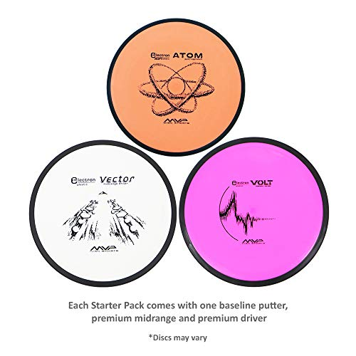 MVP Disc Golf Starter Set Electron Set of 3 Discs