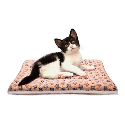 Lanivic Fleece Dicke Hundedecke Katzendecke Super Softe Warme und Weiche Hundematte für Haustier Hund und Katze