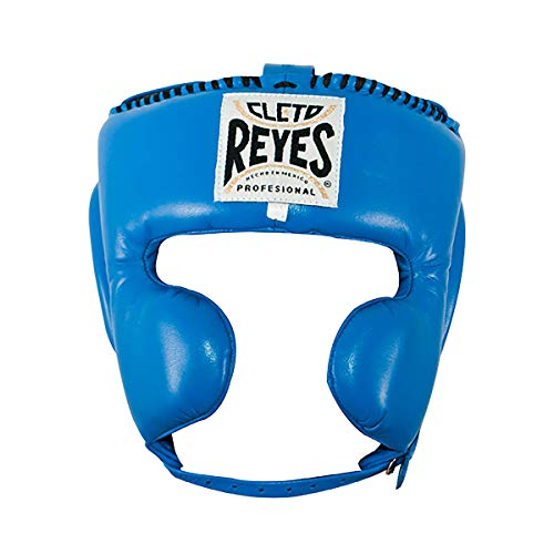 Cleto Reyes Cheek Protection Headgear Unisex (Small, Electric Blue)