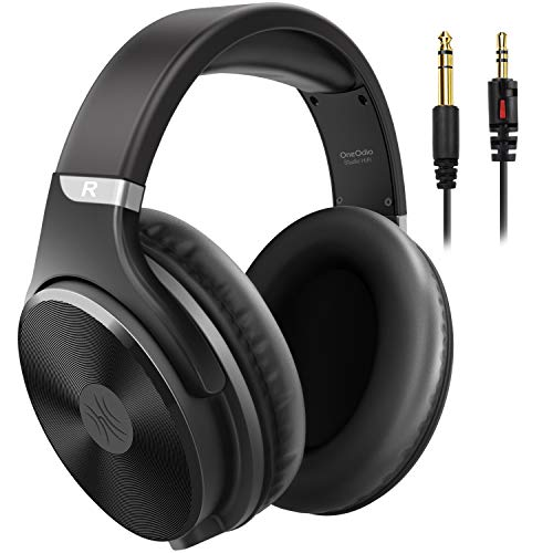 OneOdio Wired Over Ear Headphones-Noise Isolation, 3.5mm/6.35mm Jack, Professional Studio Monitor...
