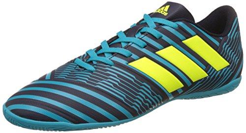 adidas Herren Nemeziz 17.4 IN Fußballschuhe, Blau (Legend Ink/solar Yellow/Energy Blue), 44 EU