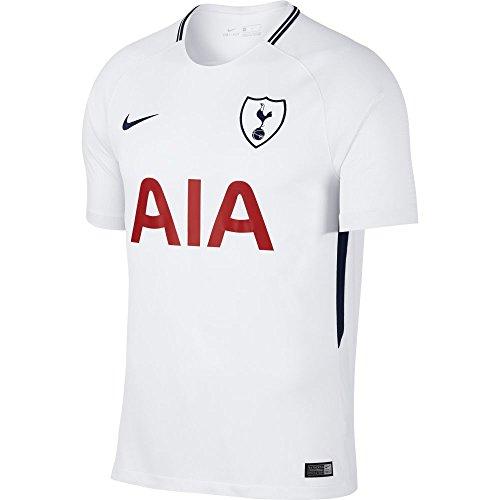 Nike Kinder Trikot Tottenham Hotspur FC Stadium Home, White/Binary Blue, XS, 896334-101