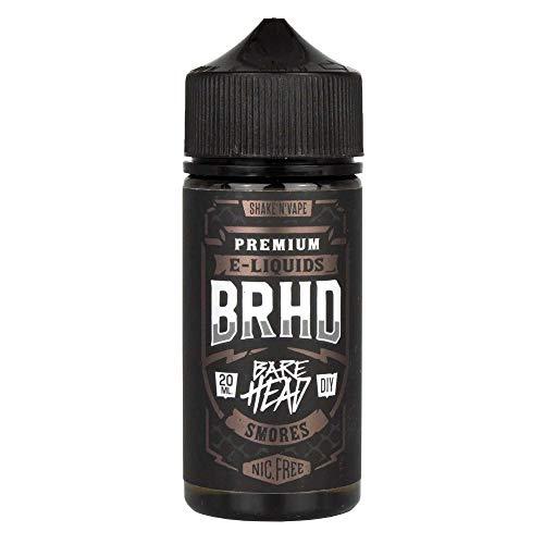 Barehead Aromakonzentrat Smores, zum Mischen mit Basisliquid für e-Liquid, 0.0 mg Nikotin, 20 ml