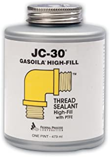 Gasoila JC-30 PTFE High-Fill Thread Sealant, 1 pint Can