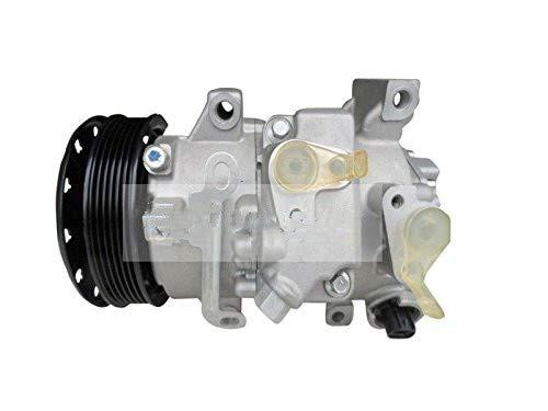 SINOCMP AC Compressor 88310-02520 Air Compressor New Air Conditioning Compressor AC Compressor Clutch Assy for Toyota Corolla 1.8L L4 2009 2010 6SEU14C, 3 Month Warranty
