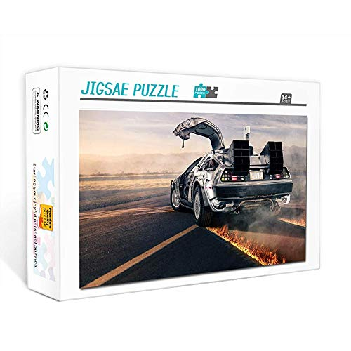 Puzzle de 1000 piezas para adultos Regreso al futuro cartel de película vintage Juego familiar, trabajo en equipo, regalo y regalo para amantes o amigos. 75x50cm