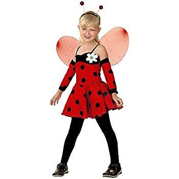 Disfraz de Hada Mariquita en varias tallas para niñas: Amazon.es ...
