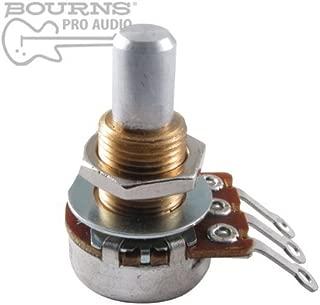 Bourns Mini Guitar Potentiometer, 250K Audio, Solid Shaft