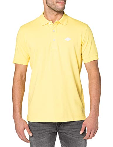 REPLAY M3070 Camisa de Polo, 303 Amarillo Brillante, L para Hombre