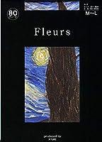 Fleurs(フルール) FZ-1660 ゴッホ 星月夜 日本製 80デニール(MLとLL)と50デニール(ML)展開 (50デニール M~L)