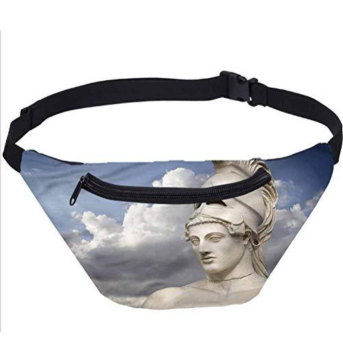 Esculturas bolsa de viaje Fanny, figura de mitología griega riñonera bolsa de viaje