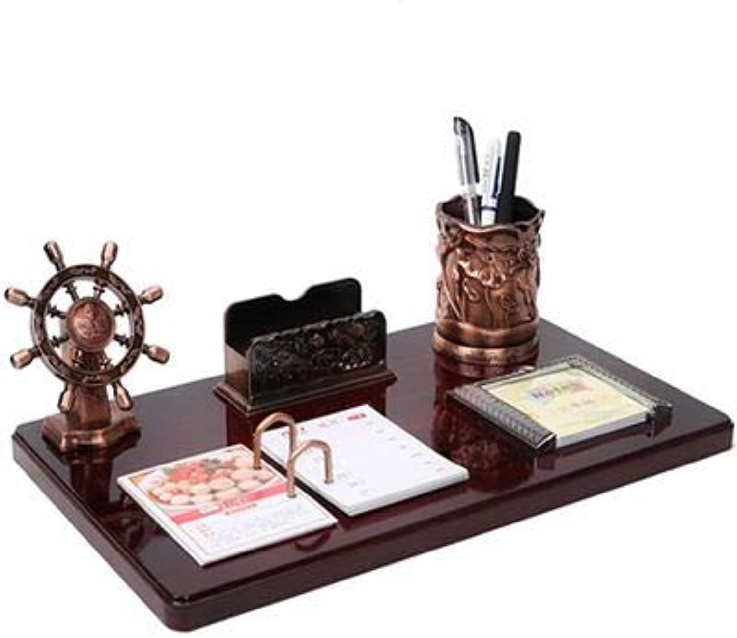 Decoration of Pencil Holder for Desk Writing Desk with Creative Gifts,A Smooth Sailing (4024Cm)