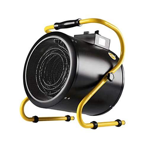 SHENXINCI Calentador de Aire portátil Industrial Especial, calefacción de cerámica, termostato autónomo, secador portátil, 3kw/5kw, Negro