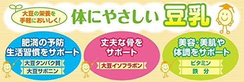 マルサン豆乳飲料バナナカロリー50%オフ1L×6本