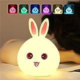 Luz de noche Luz de noche LED multicolor for los niños de noche la lámpara del...