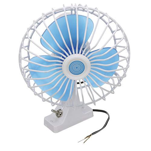 Seachoice 71451 12V DC Oscillating Fan – 6 Inch – 90 Degree Oscillating Motion, White, 6-inch