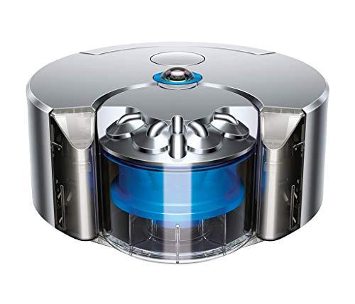 Dyson 360 Eye Robot Aspirador, níquel y Azul, 64978-01